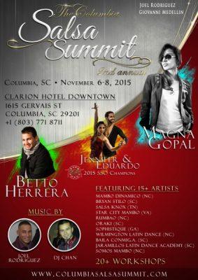 Columbia Salsa Summit - 2nd Annual