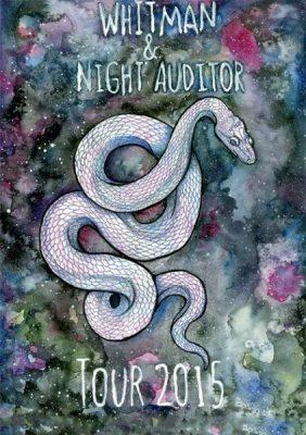Whitman/ Night Auditor/ Zach Siebert/ Baggage Klaim (tape release party!)