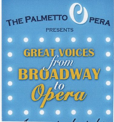Great Voices from Broadway to Opera