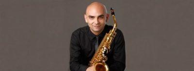Dúo Ánima Concert: Mariano Garcia Jimenez, saxophone, Aniana Jaime Latre, piano