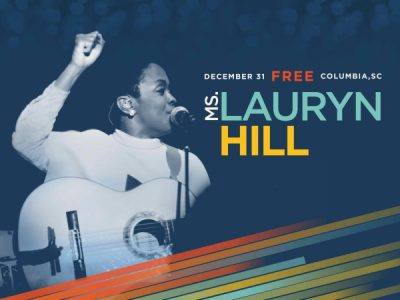Ms. Lauryn Hill Live at Famously Hot New Year, Free NYE Celebration in Columbia, S.C., Dec. 31, 2015