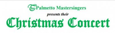 Palmetto Mastersingers Christmas concert