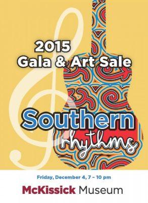 Southern Rhythms: 2015 Gala Art Sale