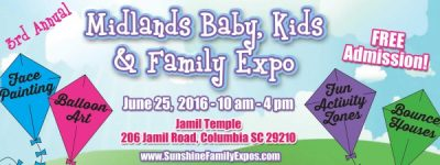3rd Annual Midlands Family Expo