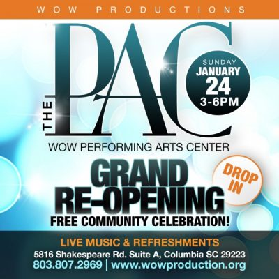 The PAC Grand Re-Opening