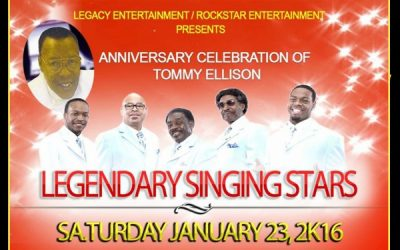 Tommy Ellison's Legendary Singing Stars