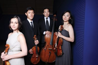 Free Parker Quartet Family Concert