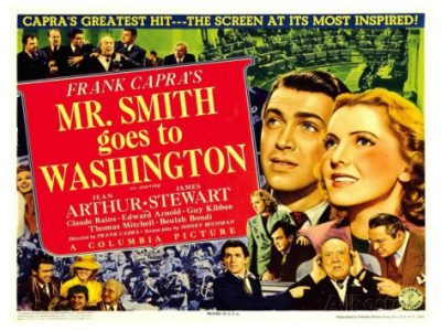 P.O.V. Film Series Screens 'Mr. Smith Goes To Washington' at Tapp's Feb. 19