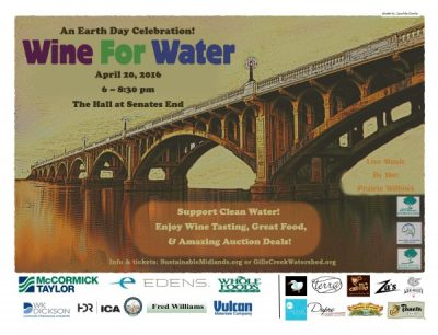 Wine For Water, an Earth Day Event