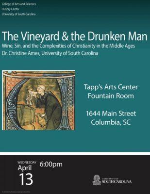 """The Vineyard and the Drunken Man"""