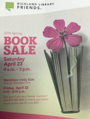 Spring Book Sale
