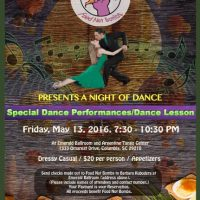 Columbia Food Not Bombs Presents A Night of Dance at Emerald Ballroom May 13, 2016