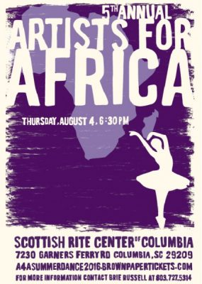 5th Annual Artists For Africa Performance Series