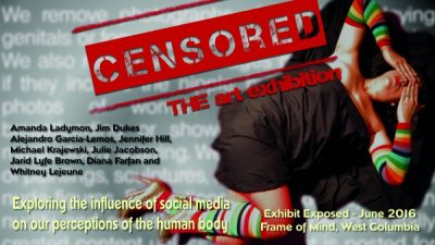 Frame of Mind presents Censored: The Art Exhibit