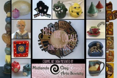 "Midlands Clay Arts Society ""Meet the Locals"""