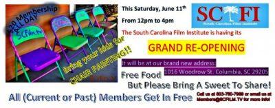 South Carolina Film Institute Grand Re-Opening