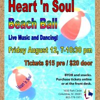 Heart N Soul Beach Ball