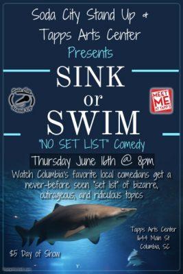 Sink or Swim Comedy Show: THIRD THURSDAY COMEDY