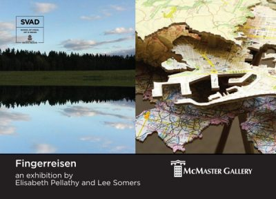 Opening Reception for Fingerreisen, an exhibition by Elisabeth Pellathy and Lee Somers