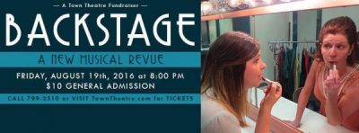 Backstage: A New Musical Revue