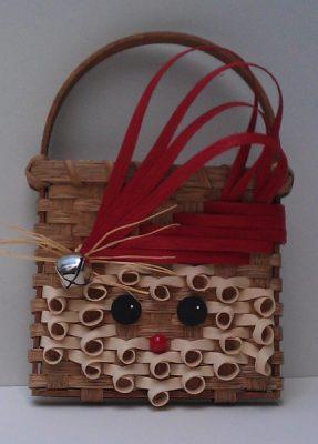 Basket Weaving with Bonnie - Santa Basket