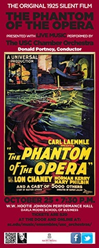 Phantom of the Opera with USC Chamber Orchestra