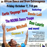 African Dance and Drum Extravaganza at the Lourie Center