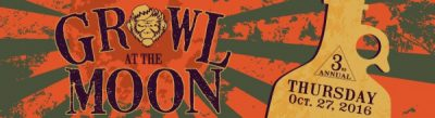 3rd Annual Growl at the Moon