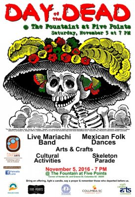 Day of the Dead Festival @ Five Points