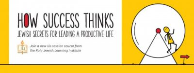 How Success Thinks: Jewish Secrets to Leading a Productive Life