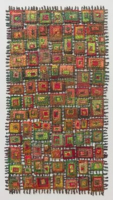 "Susan Lenz ""BUILDINGS in STITCHES"""