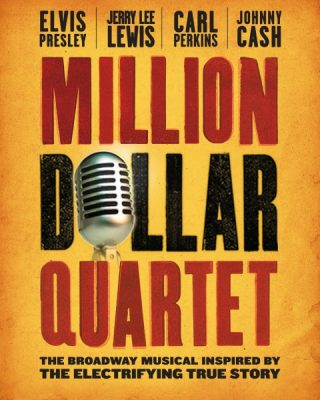 Audition to be a part of the Million Dollar Quartet at Town Theatre