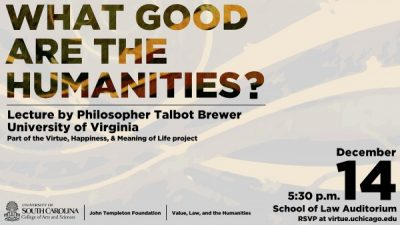 What Good are the Humanities?