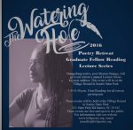 The Watering Hole Graduate Reading and Keynote Address