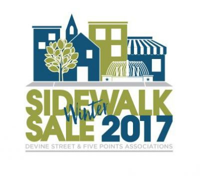 Winter Sidewalk Sale