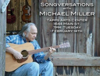 Songversation Presents singer/Songwriter, Michael Miller
