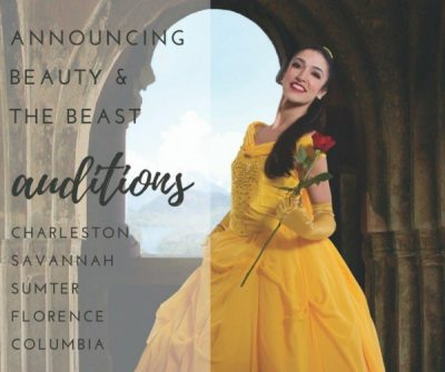 Beauty & the Beast Auditons: Columbia City Ballet