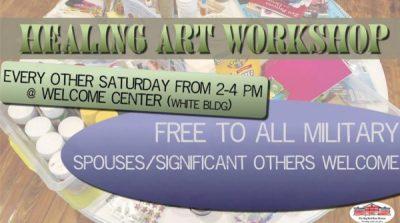 Healing Art Workshop for Military