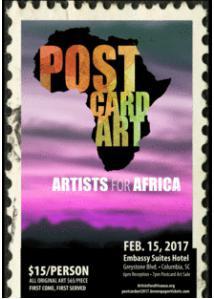 Postcard Art 2017: Artists for Africa
