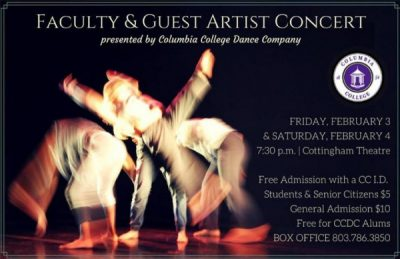 Columbia College Faculty & Guest Artist Dance Concert 2017