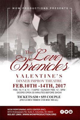 The LOVE Chronicles - Improv Dinner Theatre