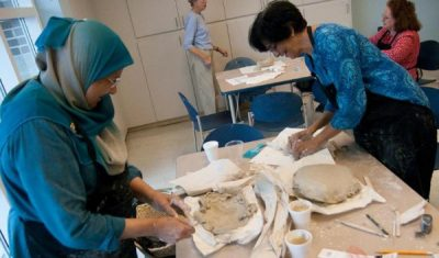 Hand Building with Clay at the Columbia Museum of Art