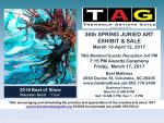 36th Annual TAG Spring Juried Art Show