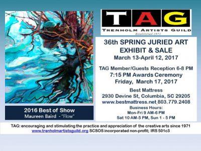 36th Annual TAG Spring Juried Art Show