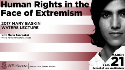 2017 Mary Baskin Waters Lecture featuring Maria Toorpakai