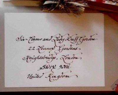 South Carolina Calligraphy