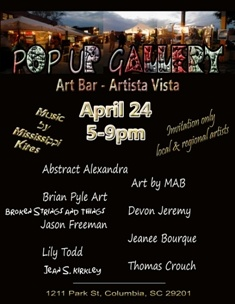 Pop Up Gallery at Artista Vista