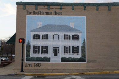 Mural of the Harmon House