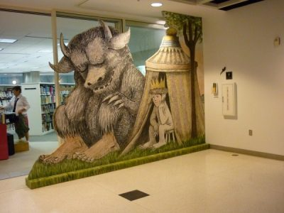 Where the Wild Things Are Mural and Free-Standing ...