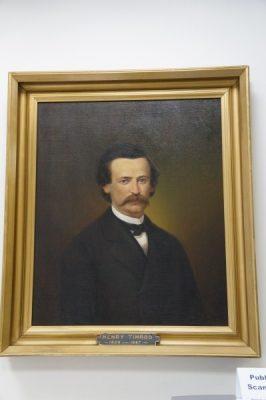 Portrait of Henry Timrod, SC poet